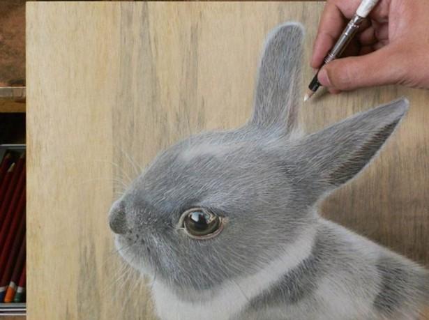 Портреты домашних животных, нарисованные в стиле гиперреализм