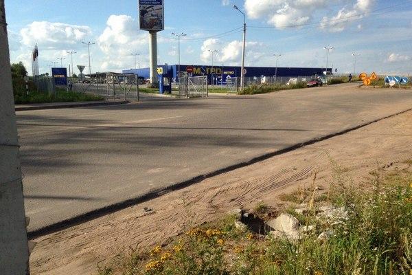 В Смоленске спасали собаку, провалившуюся в открытый люк